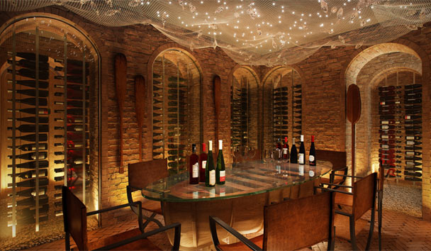 Six Senses Zil Pasyon: Wine Cellar