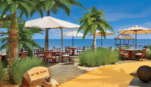 The Oberoi Mauritius: On the Rocks Restaurant
