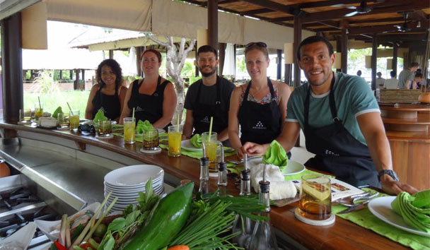Cookery Class at Six Senses Samui
