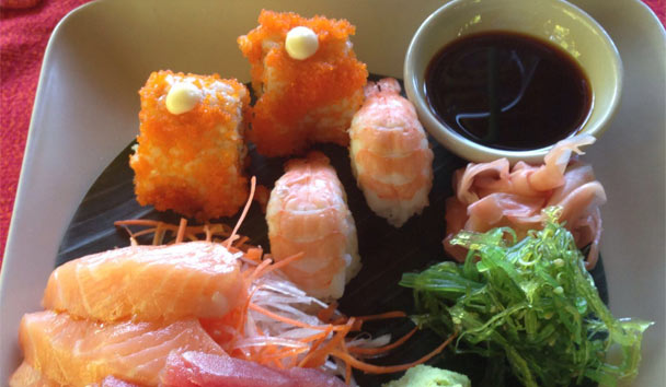 Six Sense Samui: Sushi and Fresh Cusine