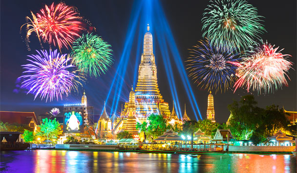 The Best of Thailand: New Year in Bangkok