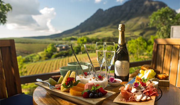 Delaire Graff Lodges and Spa: Luxury Lodge Breakfast