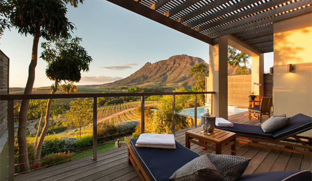 Delaire Graff Lodges and Spa: Luxury Lodge