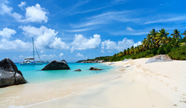 Discover the beauty of the British Virgin Islands with a private luxury yacht on your Caribbean holiday