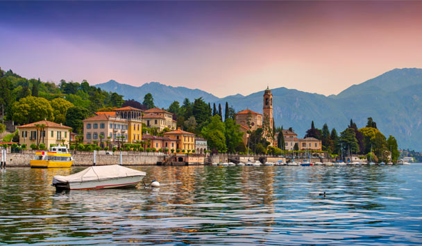 Find an elegant Italian hideaway on the soothing shores of luxurious Lake Como