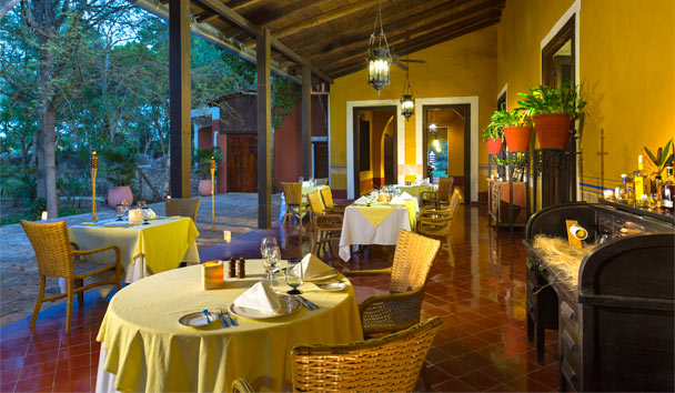 Hacienda Santa Rosa, a Luxury Collection Hotel: Restaurant