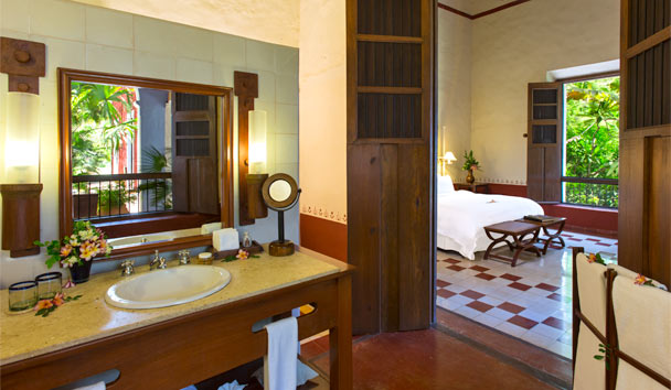 Hacienda Santa Rosa, a Luxury Collection Hotel: Junior Suite Bathroom