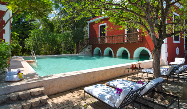 Hacienda Santa Rosa, a Luxury Collection Hotel: Main swimming pool