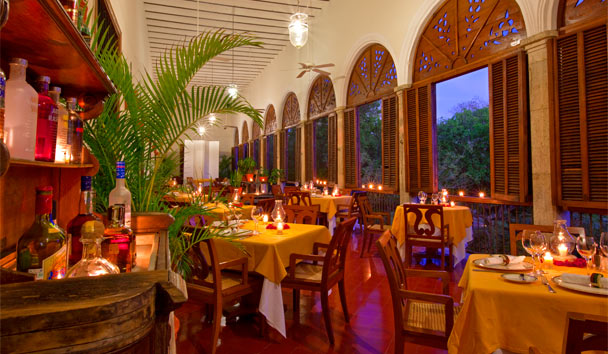 Hacienda Temozon, a Luxury Collection Hotel: Restaurant