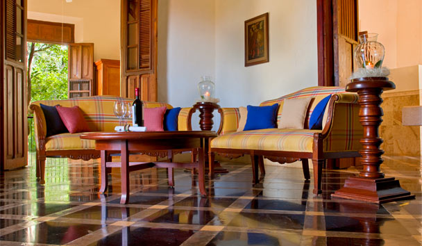 Hacienda Temozon, a Luxury Collection Hotel: Presidential Suite living room