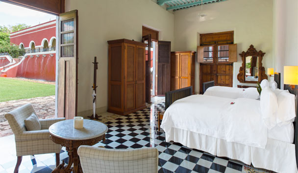 Hacienda Temozon, a Luxury Collection Hotel: Double bedroom