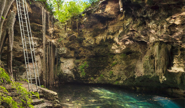 Hacienda Temozon, a Luxury Collection Hotel: Spa cenote