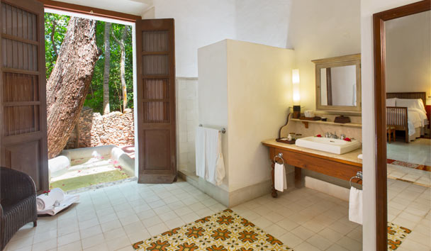 Hacienda Temozon, a Luxury Collection Hotel: Junior Suite bathroom