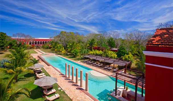 Hacienda Temozon, a Luxury Collection Hotel: Aerial view
