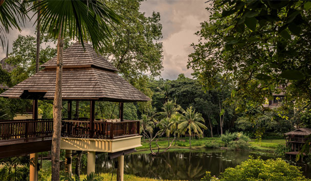 Four Seasons Resort Chiang Mai: Pond and Gardens