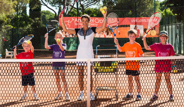 Go for gold at the many oustanding sports academies of Forte Village