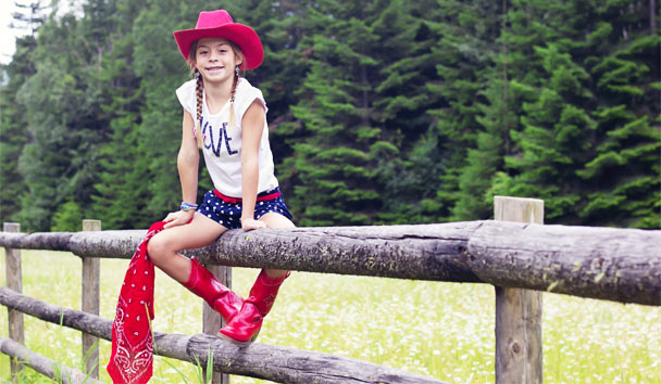 Children will love the thrill of the rodeo and the fun of ranch life in Montana