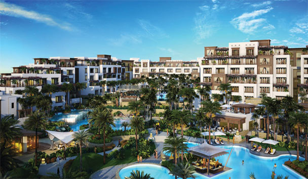 Jumeirah Al Naseem: Resort View