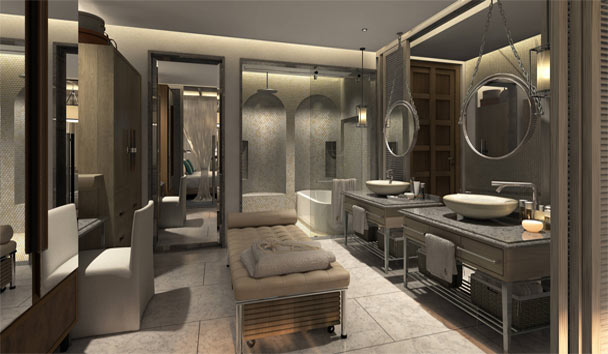 Jumeirah Al Naseem: Generous Open Plan Bathroom