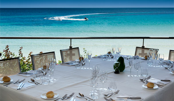 Forte Village - Bouganville  : Gordon Ramsay's restaurant
