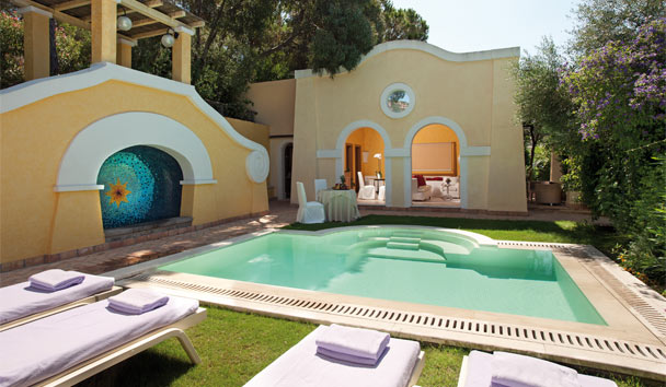 Forte Village - Le Dune: Suite with Private Pool