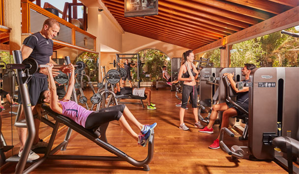 Forte Village - Villa del Parco & SPA: Fitness Center