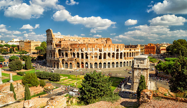 Become infatuated with Italy's finest cities, Rome and Venice