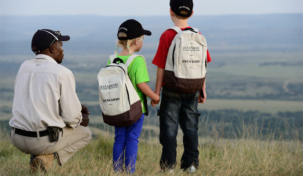 Shamwari Private Game Reserve: Children on safari