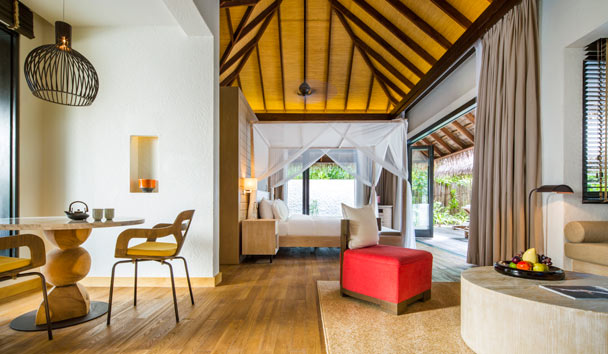 COMO Maalifushi: Beach Suite Bedroom