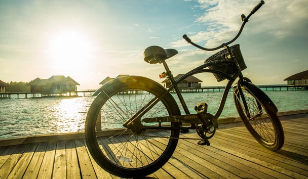 COMO Maalifushi: Bicycle
