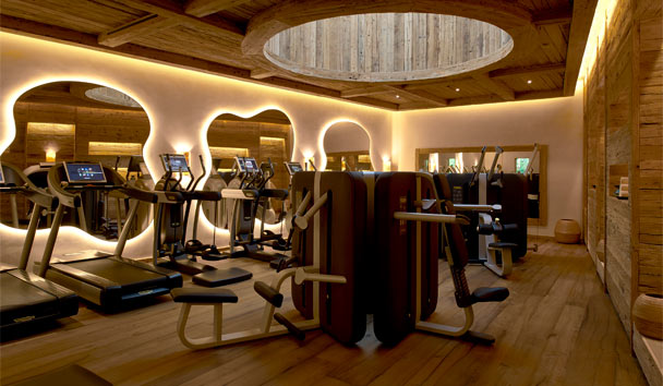 The Alpina Gstaad: Gym