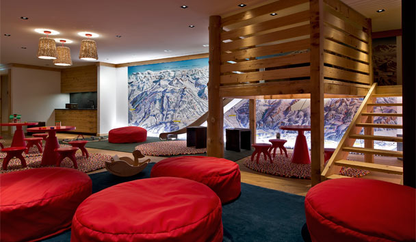 The Alpina Gstaad: Children's play area