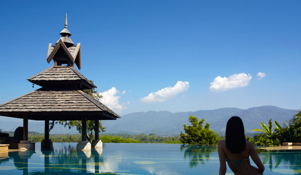 Anantara Golden Triangle, Hillside Views