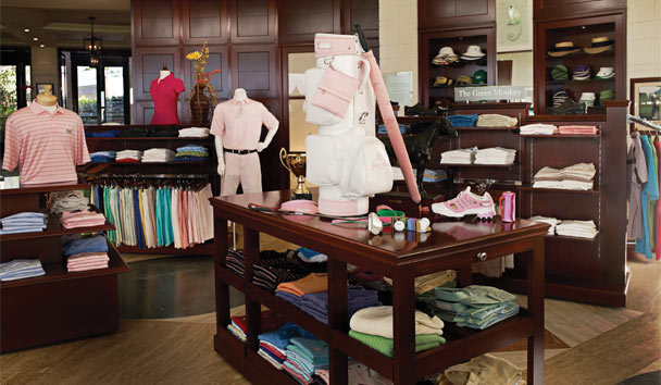 Pick up top-range essentials at the prestigous Sandy Lane Pro Shop
