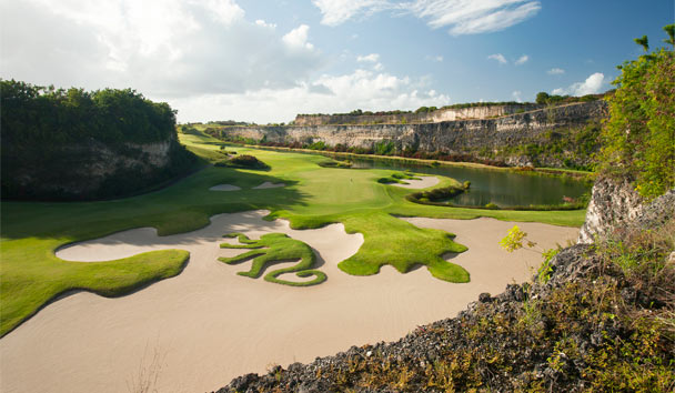 The iconic Green Monkey at Sandy Lane is a must for dedicated golf fans