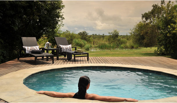 Savanna Private Game Reserve: Executive Suite Plunge Pool