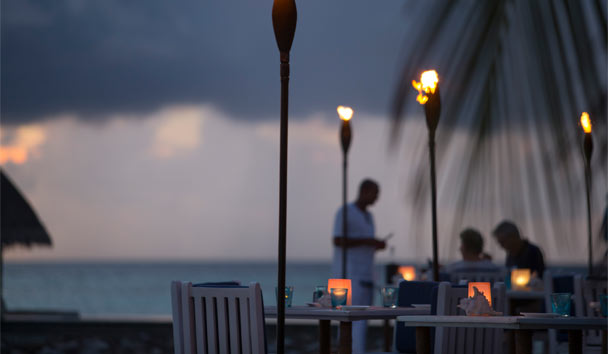 Four Seasons Resort Maldives at Kuda Huraa: Dine Under The Stars