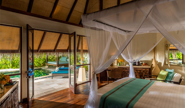 Four Seasons Resort Maldives at Kuda Huraa: Beach Pavilion with Pool