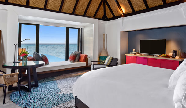 Four Seasons Resort Maldives at Kuda Huraa: Sunrise Water Villa with Pool