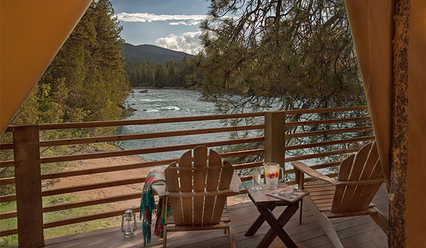 The Resort at Paws Up: River Camp