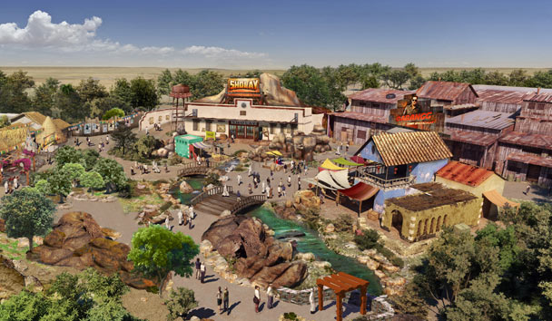 Feel the spirit of rural India at the Rustic Ravine in Bollywood Parks Dubai
