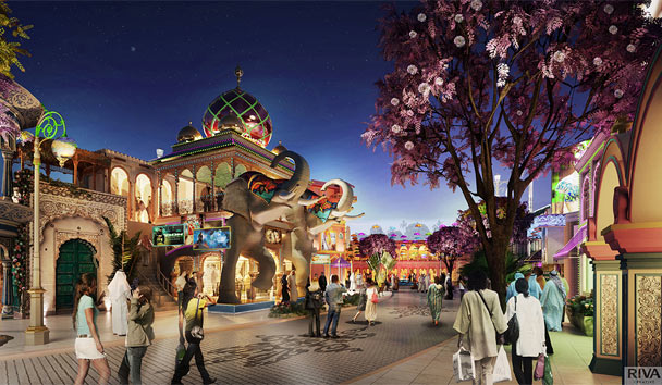 Bollywood Parks Dubai is the first park of its kind in the world