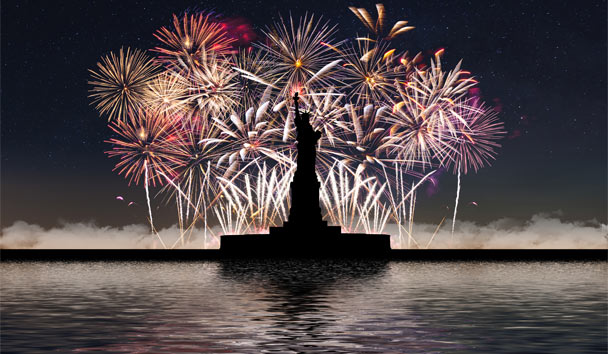 Fabulous Fireworks: Independence Day, New York