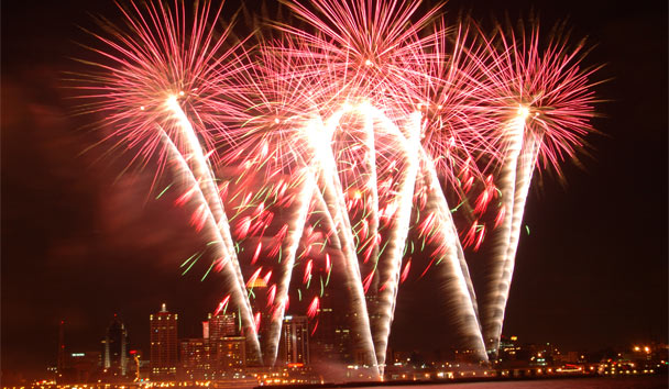 Fabulous Fireworks: Thunder Over Louisville, Kentucky