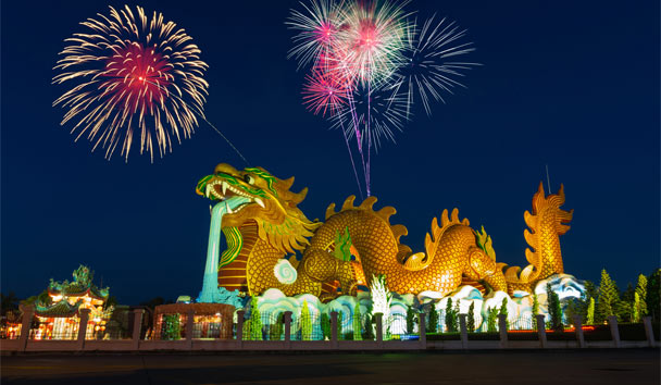 Fabulous Fireworks: Colourful Chinese Celebrations