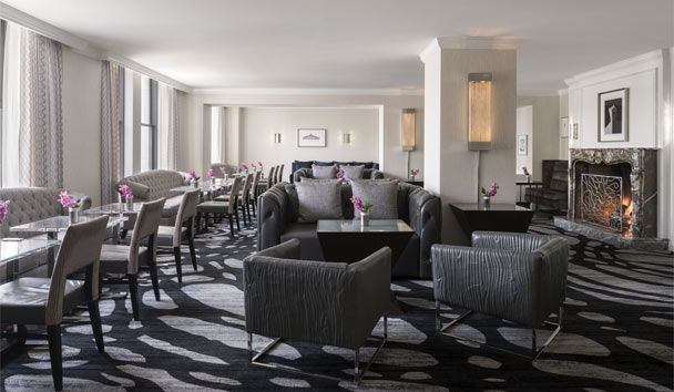 The Ritz-Carlton, San Francisco: Club Lounge