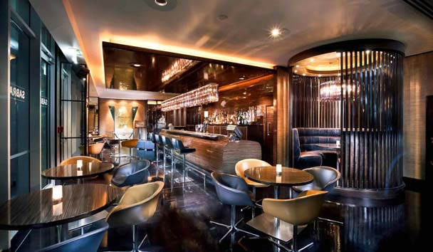 Sofitel Auckland Viaduct Harbour: Sabrage Bar
