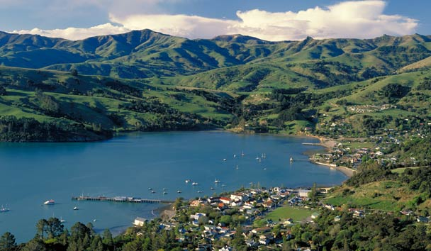 Otahuna Lodge: Akaroa Harbour