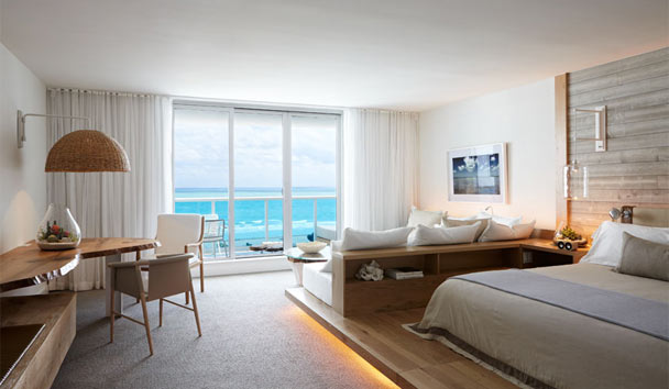 1 Hotel South Beach: Oceanfront One-Bedroom Suite With Balcony