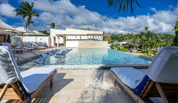 Calabash Luxury Boutique Hotel: Main swimming pool